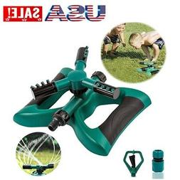 Garden Durable Sprinkler Lawn Irrigation System 360° Rotati