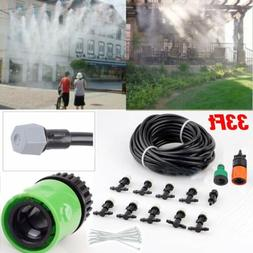 Garden Patio Water Mister Air Misting Coolin Micro Irrigatio