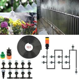 33ft Misting Cooling System Outdoor Irrigation Patio Garden