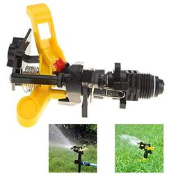 LySanSan - Garden Plastic Sprinkler Spike Lawn Grass 360 Deg
