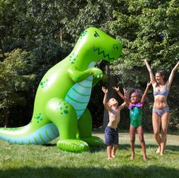 Giant Dinosaur Sprinkler Outdoor Water Toy Birthday Party Su