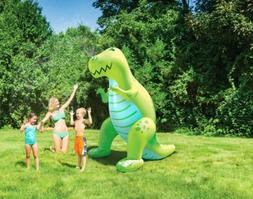 BigMouth Inc. Ginormous Inflatable Green Dinosaur Yard Summe