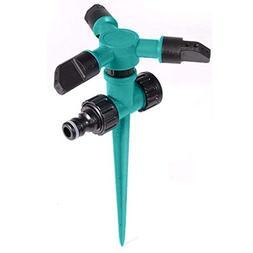 """Weite Green Garden Needle Sprinkler, Diameter 5.12"""" Height"""