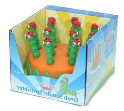 GRUB SCOUTS SPRINKLER Melissa & Doug toy NEW sunny patch HOS