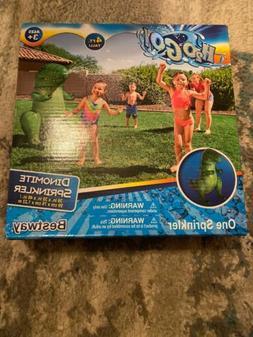 "H2o Go 4 ft Dinomite Sprinkler 39""x30""x48"" Sprinkler Action"