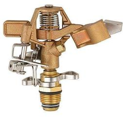 SOMMERLAND Heavy Duty Brass Impact Head Sprinkler 0 to 360 D