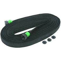 One Stop Gardens FBA_97193 3/4 in. x 50 ft. Flat Seeper Soak