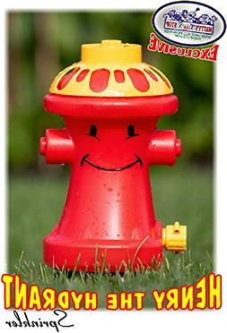 Matty's Toy Stop Henry The Hydrant Water Sprinkler for Kids,