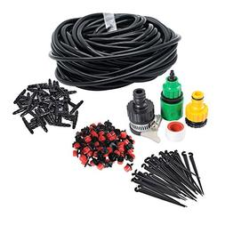 50FT Home Garden Mirco Irrigation System Sprinkler Plant Wat