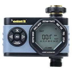 Melnor 53015 Single-Outlet Digital Water Timer, Simple and F