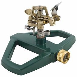 Impact Lawn Sprinkler, Metal Head & Metal Sled, Adjustable