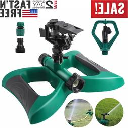 Impulse Garden Sprinkler Watering Rotating System Water Gras