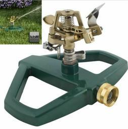 Impulse Impact Lawn Sprinkler Garden Watering Rotating Syste