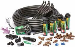 Sprinkler System Kit In-Ground Automatic Lawn Garden Waterin