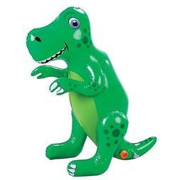 Etna Inflatable Dinosaur Sprinkler, Fun Outdoor T-Rex Water