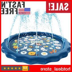 Inflatable Splash Pad Sprinkler for Kids Toddlers, Kiddie Ba