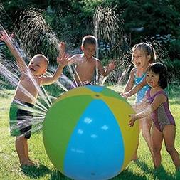 Inflatable Water Spray Ball Outdoor Fun Toy for Hot Summer S