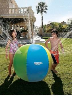 "Discovery Kids Outdoor Inflatable Water Play 32"" Sprinkler B"