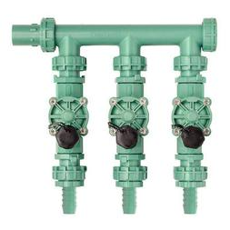 Orbit Irrigation Valve Manifold System - 3 Valves, Multiling