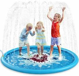 Jasonwell Sprinkle & Splash Play Mat 68 Sprinkler for Ki
