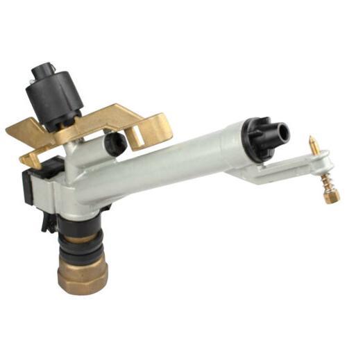 """1.5"""" Sprinkler Range Water Irrigation Spray Gun Tool 360°"""