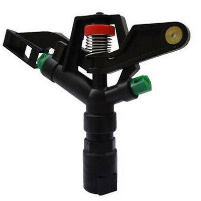 dual nozzle sprinkler head automatic agricultural irrigation