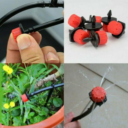 100 Sprinklers Watering Drippers Drip System