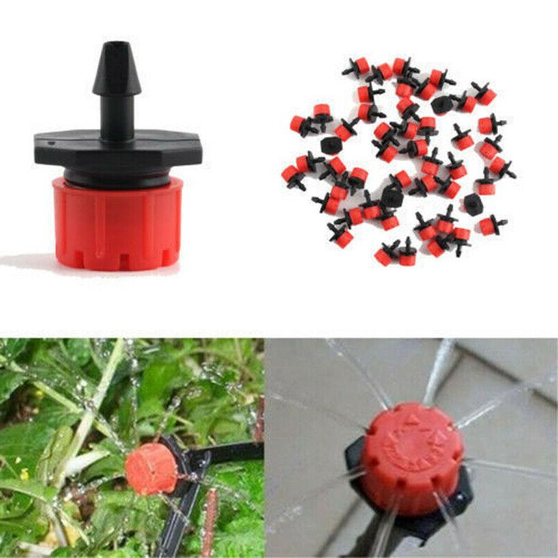 100Pcs/Pack Sprinklers Drippers On 1/4""