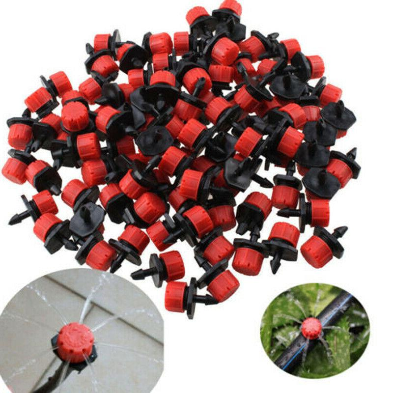 100pcs pack irrigation sprinklers watering drippers emitter