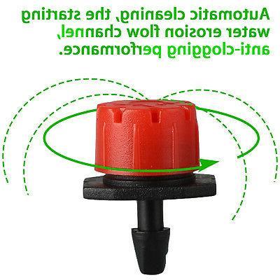 100x Micro Drip Adjustable Emitter Sprinklers