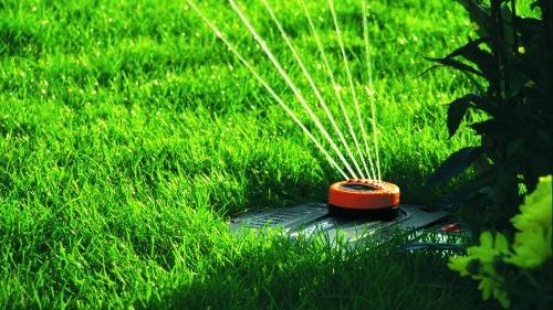 Gardena Fully Pop-Up Area Sprinkler