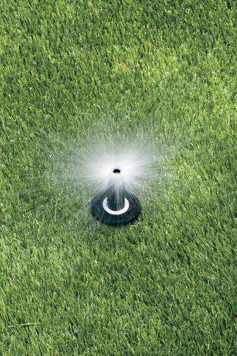 "Rain Dual Sprinkler, 8' Spray Distance, 2"" Pop-up"