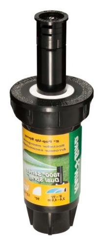 "Rain Bird 1802QDS 2"" Professional Dual Spray Pop-Up Sprinkle"