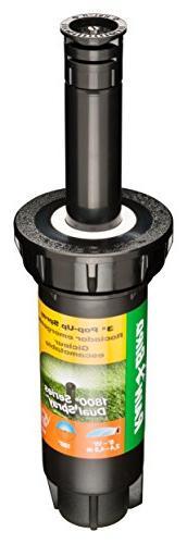 Rain Bird 1803DSH Professional Dual Spray Pop-Up Sprinkler,