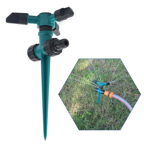 2pcs 360 rotating lawn sprinkler automatic watering