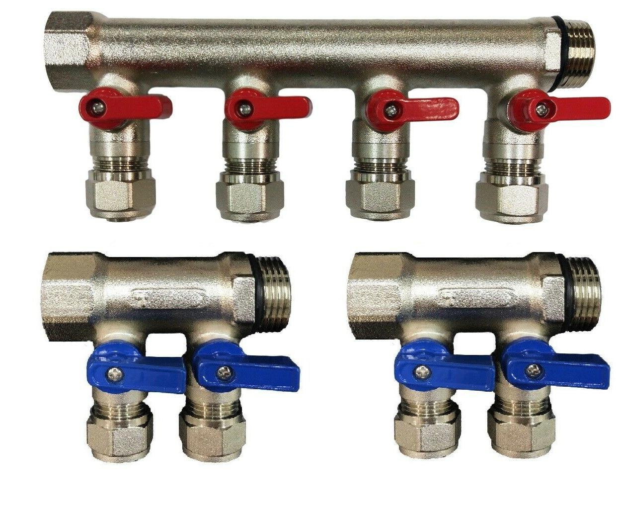 3 4 4 loops ball valve brass