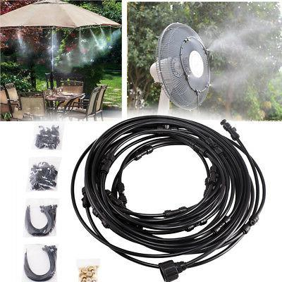 3 6 9 12m hose misting cooling