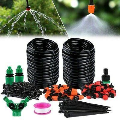 30M Automatic Drip System Kit Sprinkler Plant