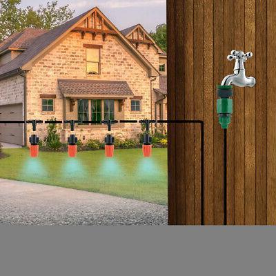 30M Drip System Watering Kit Micro Sprinkler