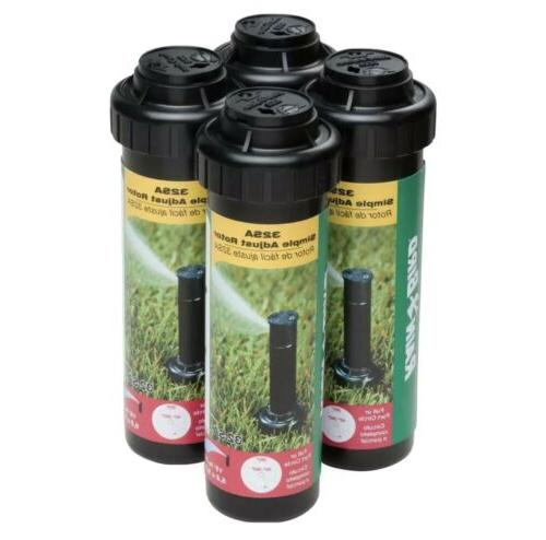 32sa rotor sprinkler heads 4 pack simple