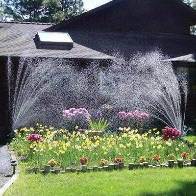 360° Automatic Garden Irrigation System