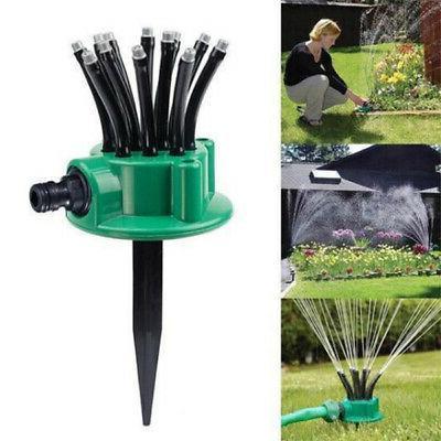 360 adjustable lawn sprinkler automatic garden plant