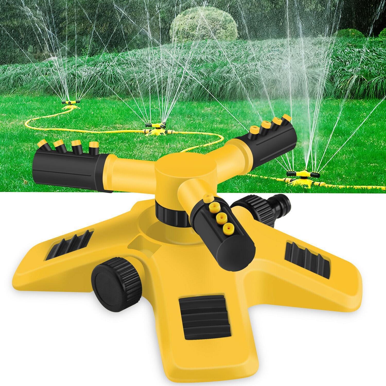 360 auto rotating lawn sprinklers garden spray