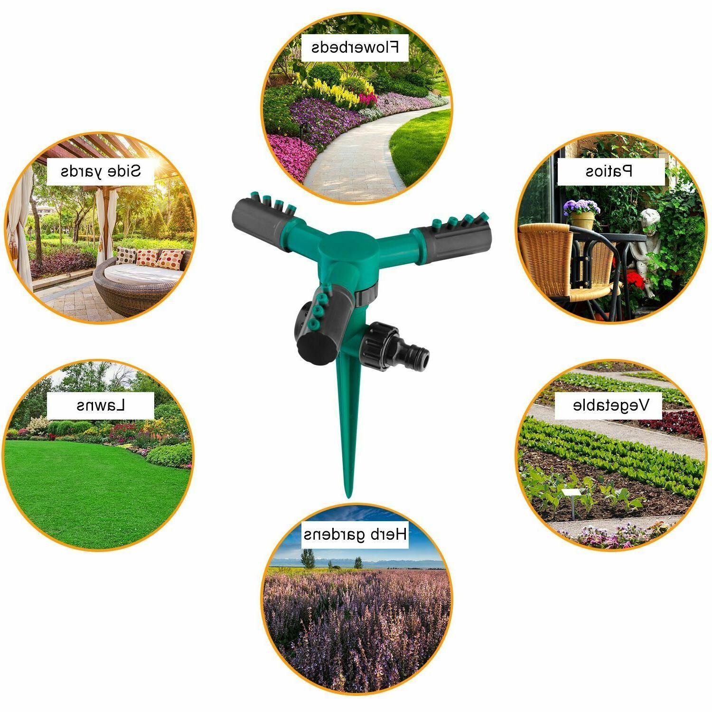 360° Sprinkler Garden Grass System Spray