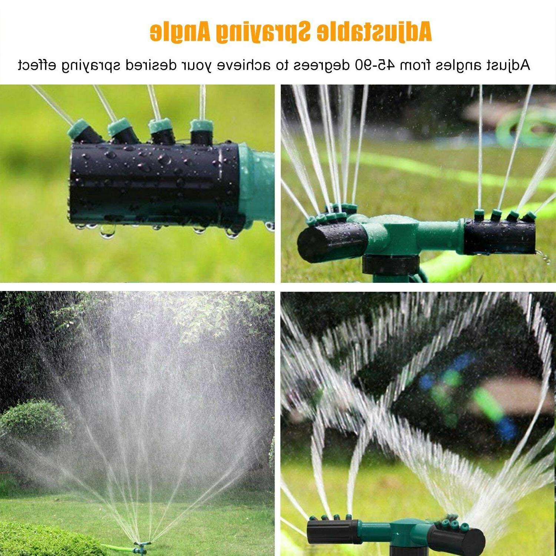 360° Sprinkler Grass System