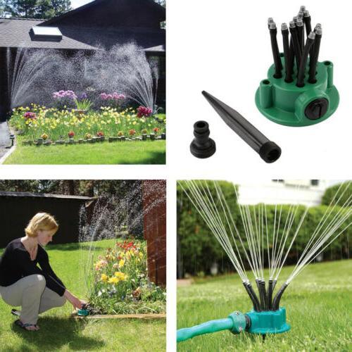 360 degrees sprinkler automatic multi head irrigation