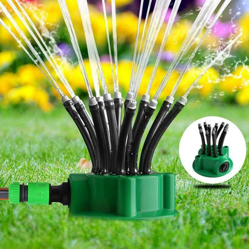 360lawn sprinkler head automatic garden yard water
