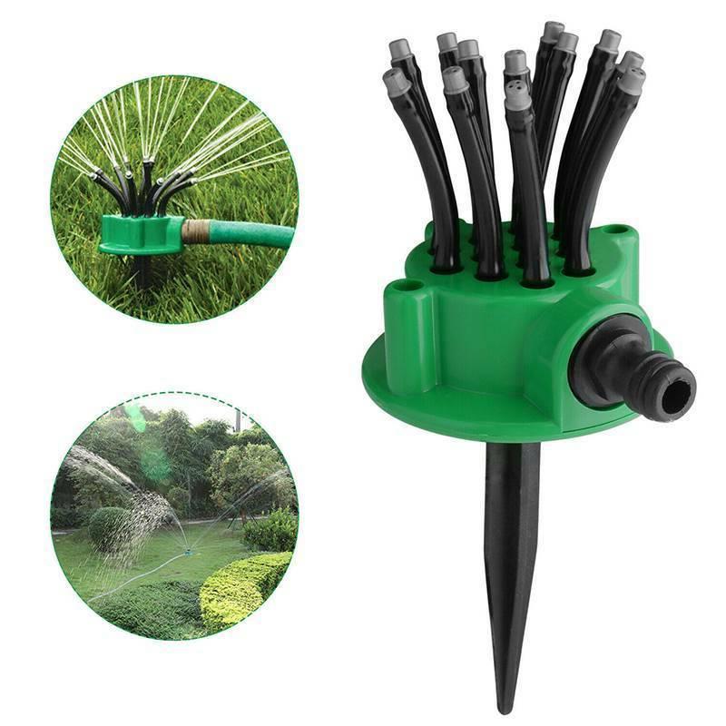 360°Lawn Sprinkler Garden Irrigation System US