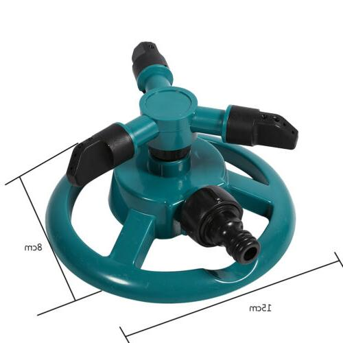 Rotating Garden Watering System Water