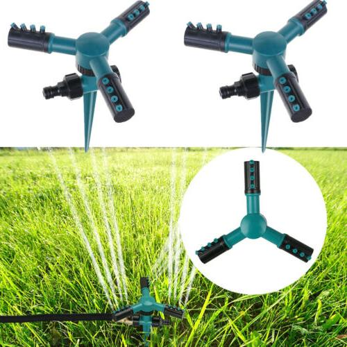 360° Sprinkler Automatic Rotating Garden Lawn US